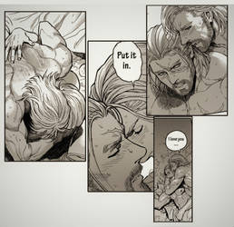NSFW comic is ready! by aenaluck