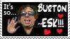 Burton-ESK stamp by Ellgon