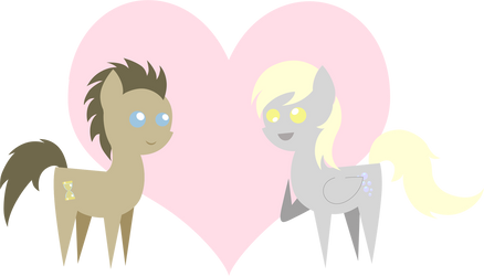 Pointy Love - Doctor Whooves x Derpy by 2kaze