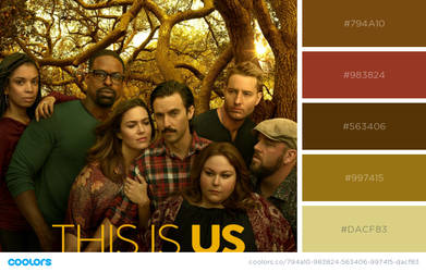 this is us colour palette by BachLynn23
