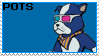 Jet Set Radio - Pots Stamp by The-Del-Bel