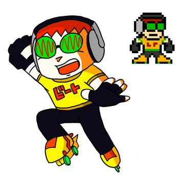 Jet Set Radio - Beat (Mega Man Style) by The-Del-Bel