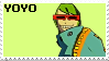 Jet Set Radio Future - Yoyo Stamp by The-Del-Bel