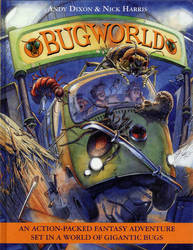 Bug World Cover by Nickillus