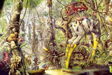 Bug World Tropical Spread by Nickillus