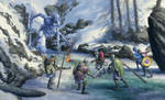 Frosty Reception by Nickillus