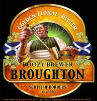 Boozy Brewer Label by Nickillus