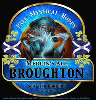 Merlin Ale Label by Nickillus