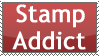 Stamp Addict Stamp by rJoyceyy