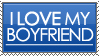 I Love My Boyfriend Stamp by rJoyceyy