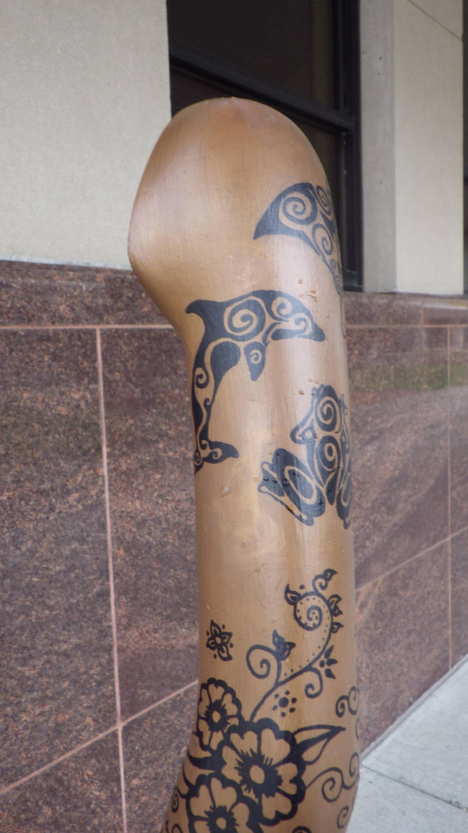 Upper Arm Henna And Polynesian Tribal Tattoos By Rockish21 On Deviantart
