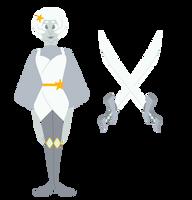 Steven Universe OC: Quartz Ref by Ghostlullaby