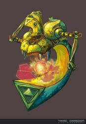 Triad Dragoon by bananasjuice