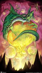 Dragon Orb by bananasjuice