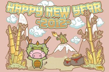 Happy new year 2012 by bananasjuice