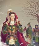 three kingdoms Shu by gingin356