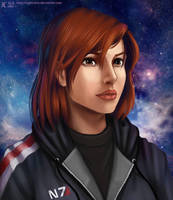 Kathrin Shepard by NightCatty