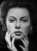 Hedy Lamarr by LazzzyV