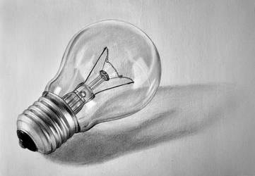 Light bulb by LazzzyV