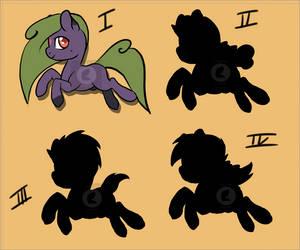 OTA Ponies (1/4) by curledcreations
