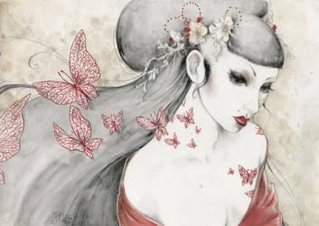 Butterflies by tanuki-chan