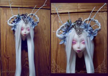 Fairy Taxidermy III  - Camassia by tanuki-chan
