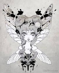 Goth Fairy by tanuki-chan