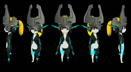 All New Midna Models by ScootWHOOKOS