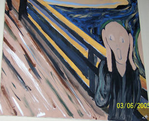 the Scream by TheholyPope