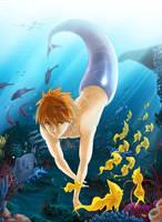 Sea garden by BloodlineV