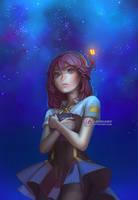 Starry Sky by BloodlineV