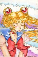 Sailor moon golden version by IldaraLoreth