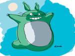 Totoro by digibody