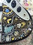 Legend of Zelda bass customization by Calico--queen