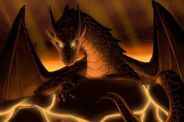 Lava Drake by Chromamancer