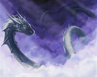 Sky Serpent by Chromamancer