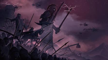 The Golem Army by Chromamancer