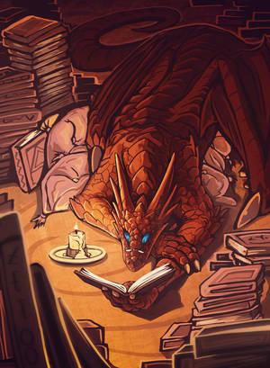 Bookwyrm by Chromamancer