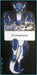 Chroma Hinged Badge by Chromamancer
