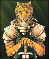 Tiger Knight by Chromamancer