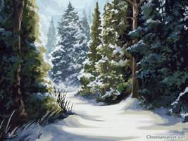 Fresh Snowfall by Chromamancer