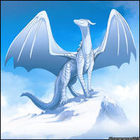 Snowy Summit by Chromamancer