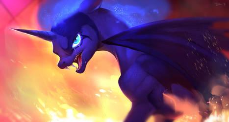 Devilpony Crybaby by Imalou