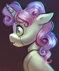 Nervous young not pony by Imalou