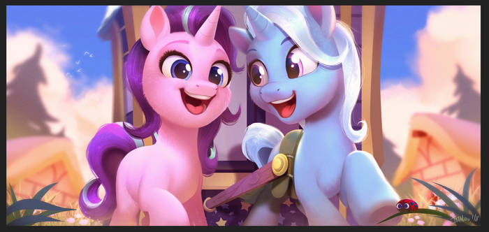We're Friendship Bound by Imalou