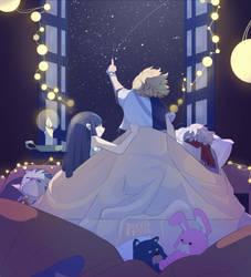 Dandelions Sleepover by teenatoon