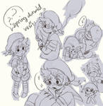 KHUx Spring Donald Ava Board on VEN by teenatoon