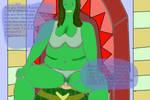 Shehulk Punish Loki by mohinir