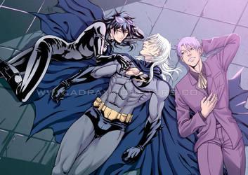 Batman tribute by stkosen