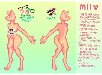 Mii Reference 2017 by Puppy-melon